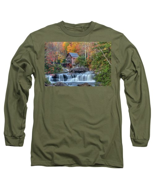 Babcock Grist Mill  II Long Sleeve T-Shirt