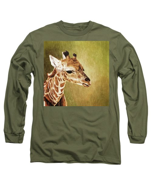 Baby Giraffe Long Sleeve T-Shirt