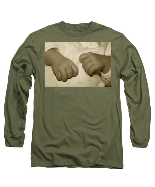 Baby Hands Long Sleeve T-Shirt