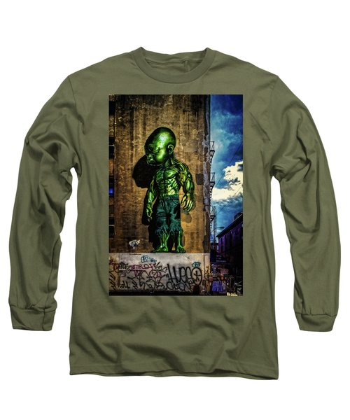 Long Sleeve T-Shirt featuring the photograph Baby Hulk by Chris Lord