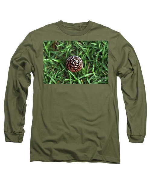 Baby Pine Cone Long Sleeve T-Shirt