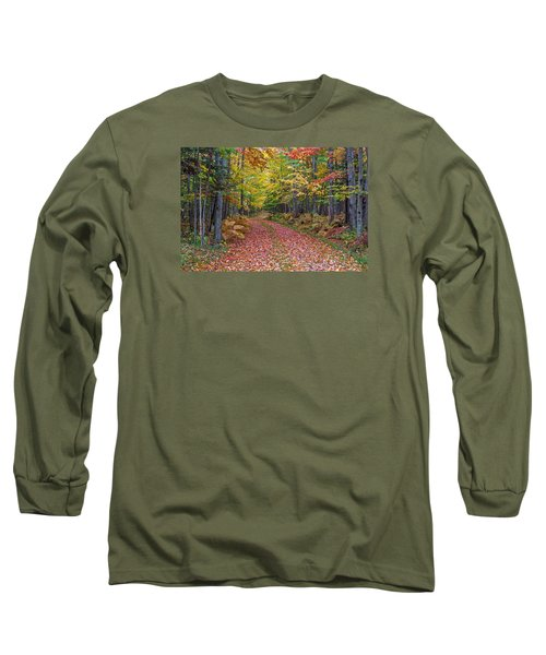 Back Road Color Tour  Long Sleeve T-Shirt