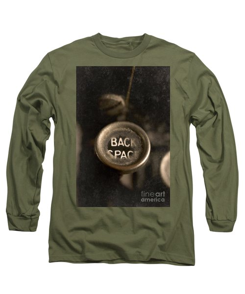 Back Space Long Sleeve T-Shirt