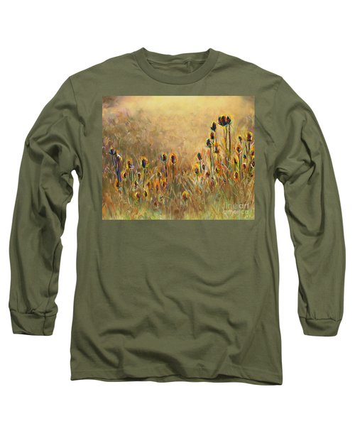 Backlit Thistle Long Sleeve T-Shirt