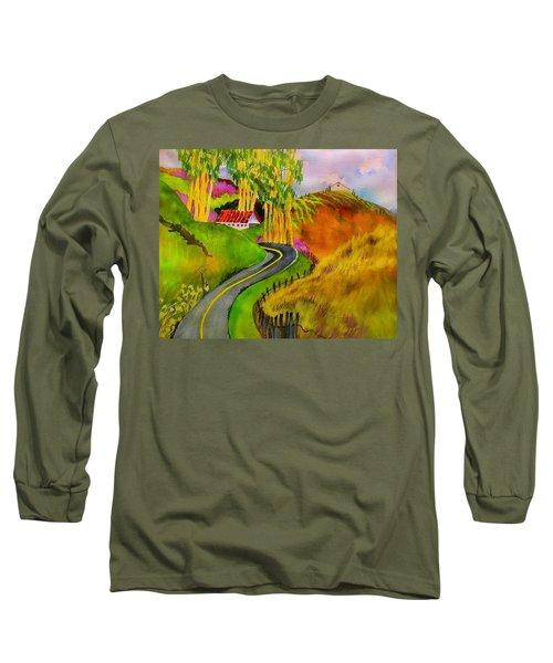 Backroads Sonoma County  Long Sleeve T-Shirt