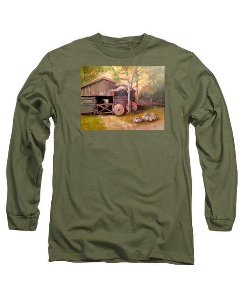 Backwoods Barn Long Sleeve T-Shirt
