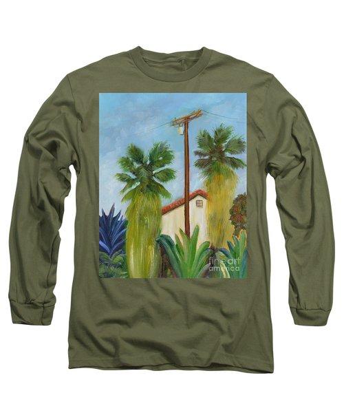 Backyard Long Sleeve T-Shirt