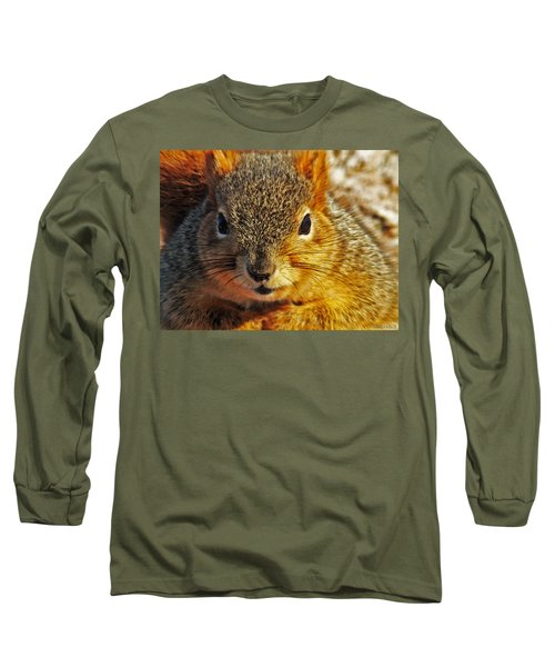 Backyard Squirrel Long Sleeve T-Shirt