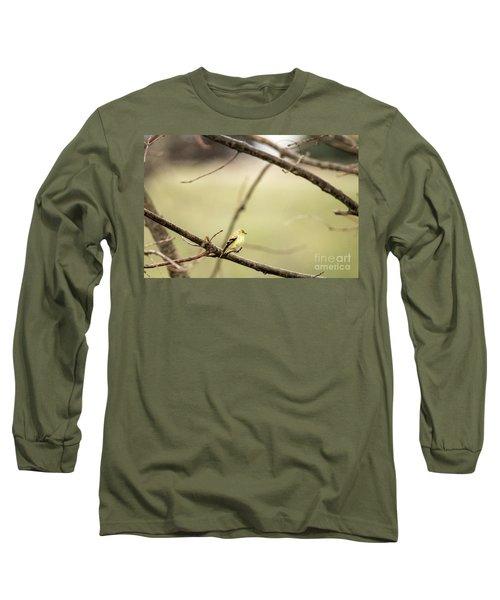 Backyard Yellow Long Sleeve T-Shirt