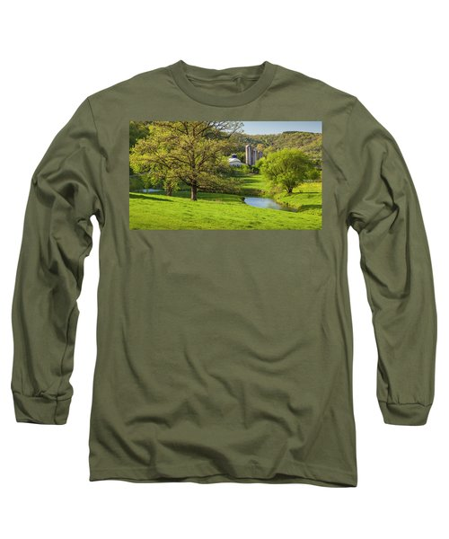 Bad Axe River Long Sleeve T-Shirt