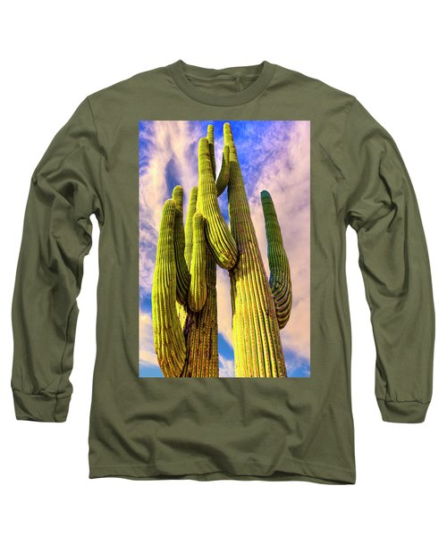 Bad Hombre Long Sleeve T-Shirt by Paul Wear