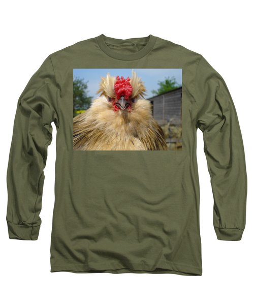 Bad Tempered Bearded Bantam Long Sleeve T-Shirt