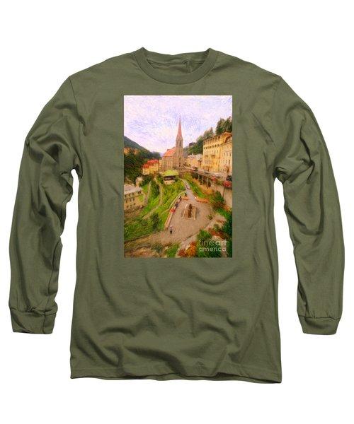 Badhofgastein Long Sleeve T-Shirt by Gerhardt Isringhaus