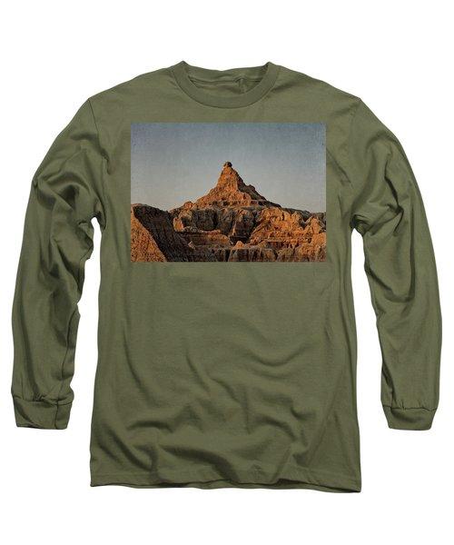 Badlands At Sunrise Long Sleeve T-Shirt