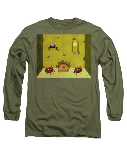 Badminton By Candlelight Long Sleeve T-Shirt