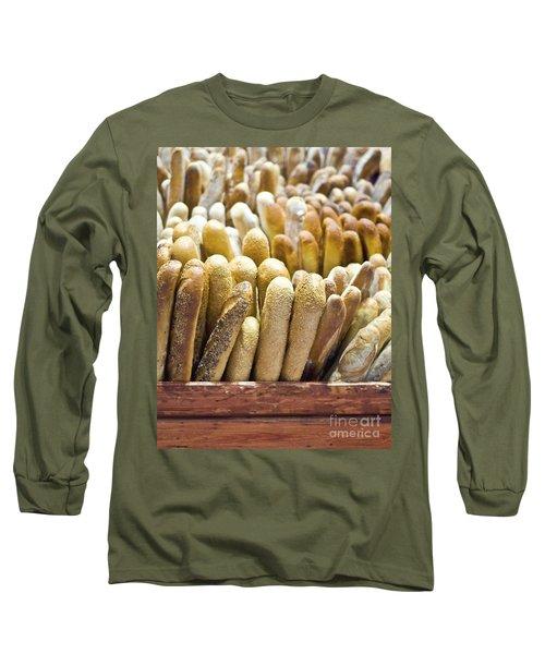 Baguettes Long Sleeve T-Shirt by Loriannah Hespe