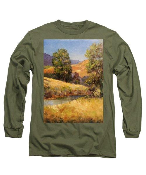 Bakesfield Creek Afternoon Long Sleeve T-Shirt