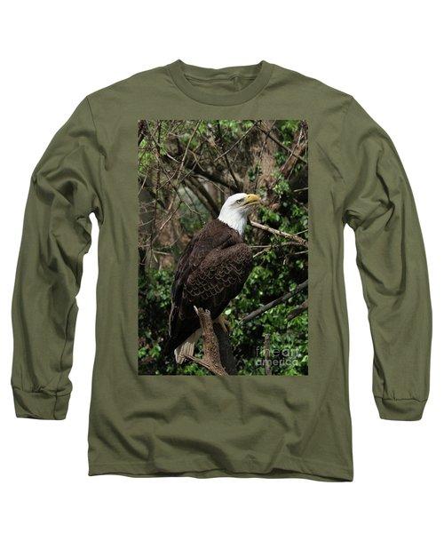 Bald Eagle #7 Long Sleeve T-Shirt