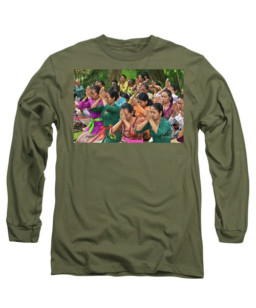 Bali_d323 Long Sleeve T-Shirt by Craig Lovell
