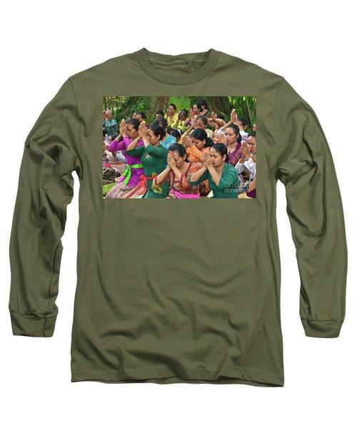 Long Sleeve T-Shirt featuring the photograph Bali_d323 by Craig Lovell