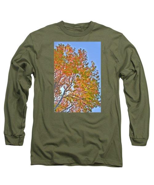 Ball To  The Wall Fall Long Sleeve T-Shirt by Derek Dean