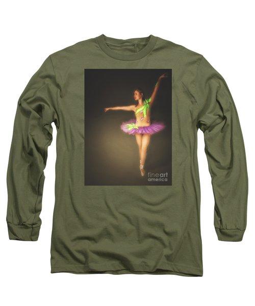 Long Sleeve T-Shirt featuring the photograph Ballerina  ... by Chuck Caramella