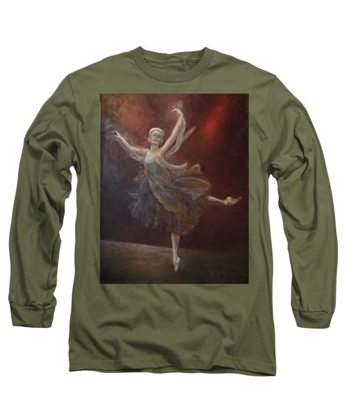 Ballet Dancer Anna Pavlova Long Sleeve T-Shirt