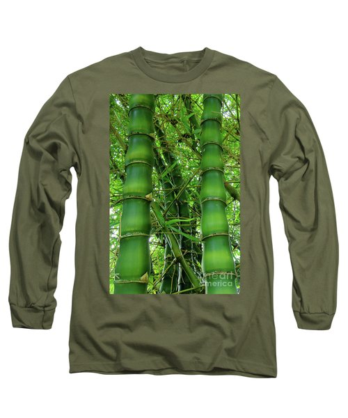 Bamboo Long Sleeve T-Shirt by Loriannah Hespe
