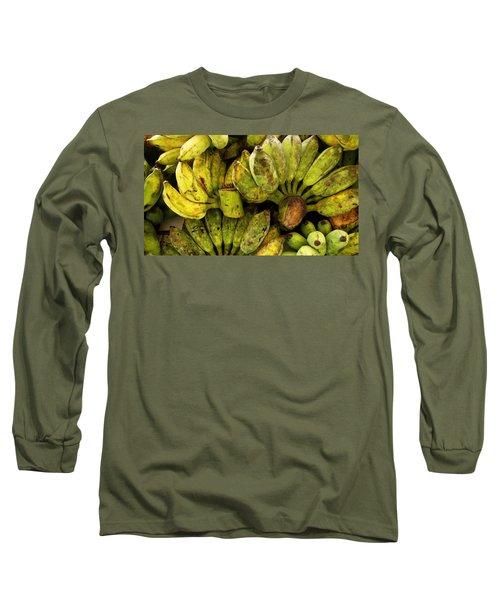 Bananas At Market Long Sleeve T-Shirt