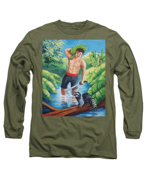 Bananas Harvest Long Sleeve T-Shirt