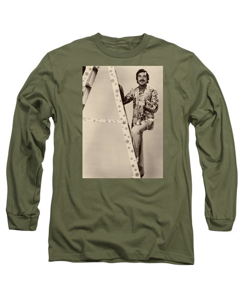 Band Leader Doc Serverinsen 1974 Long Sleeve T-Shirt by Mountain Dreams