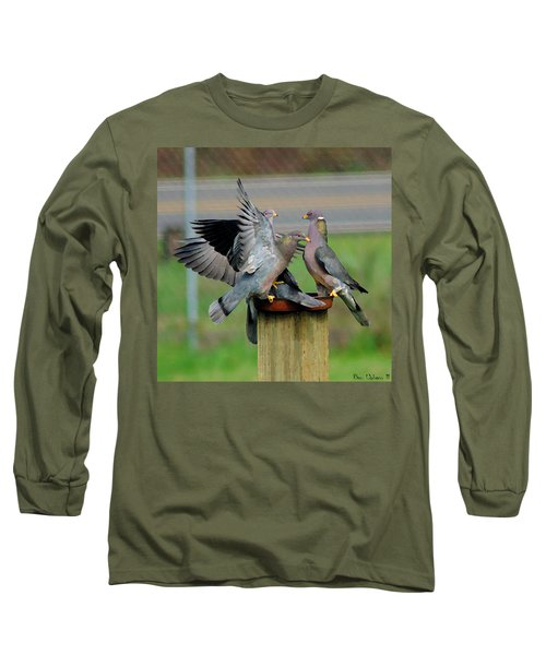 Band-tailed Pigeons #1 Long Sleeve T-Shirt