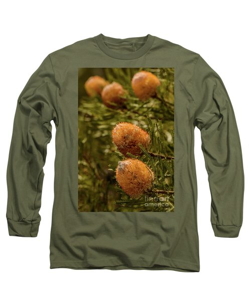 Long Sleeve T-Shirt featuring the photograph Banksia by Werner Padarin