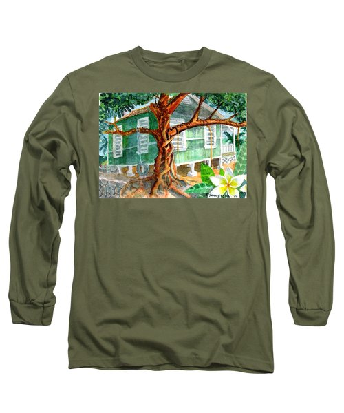 Banyan In The Backyard Long Sleeve T-Shirt