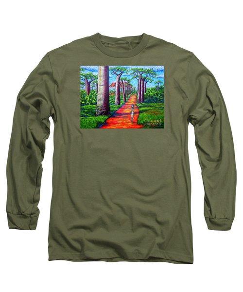 Baobab Long Sleeve T-Shirt by Viktor Lazarev