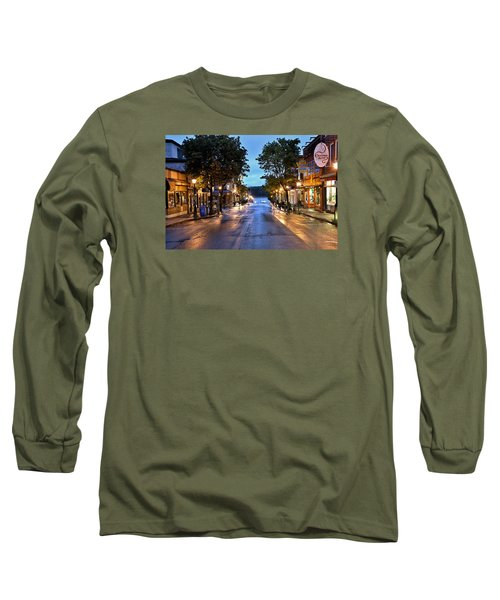 Bar Harbor - Main Street Long Sleeve T-Shirt