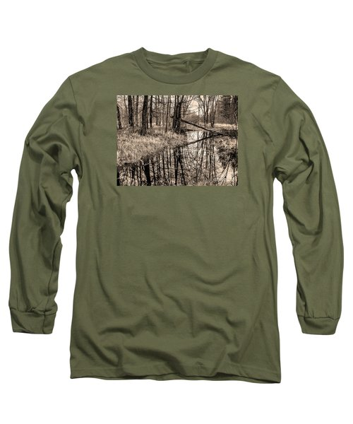 Long Sleeve T-Shirt featuring the photograph Bare Bones by Betsy Zimmerli