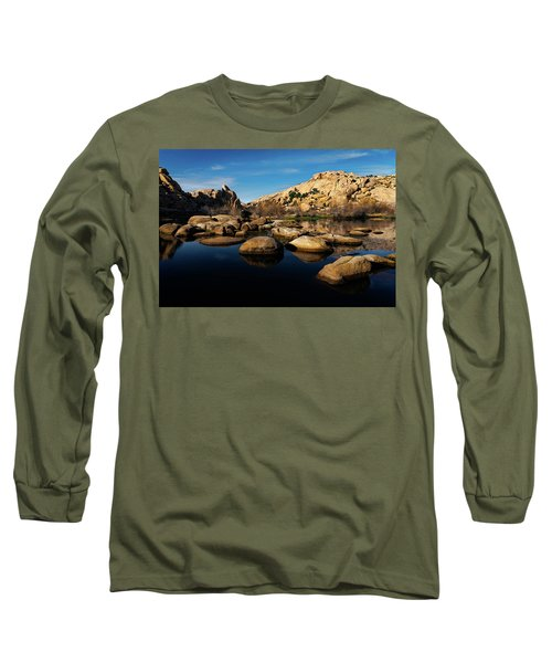 Barker Dam Lake Long Sleeve T-Shirt