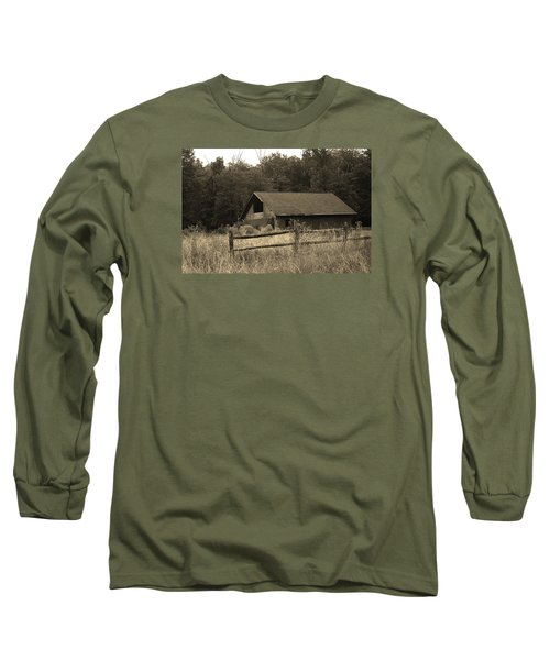 Barn And Fence Long Sleeve T-Shirt