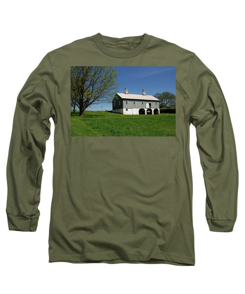 Barn In The Country - Bayonet Farm Long Sleeve T-Shirt