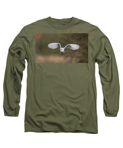 Barn Owl Approaching Long Sleeve T-Shirt