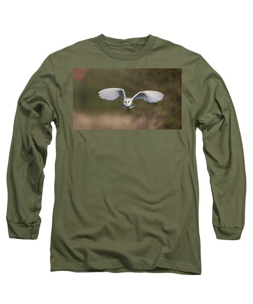 Barn Owl Approaching Long Sleeve T-Shirt
