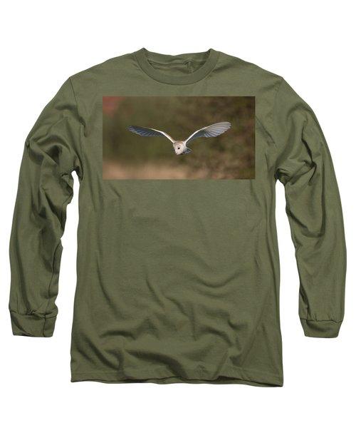 Barn Owl Quartering Long Sleeve T-Shirt