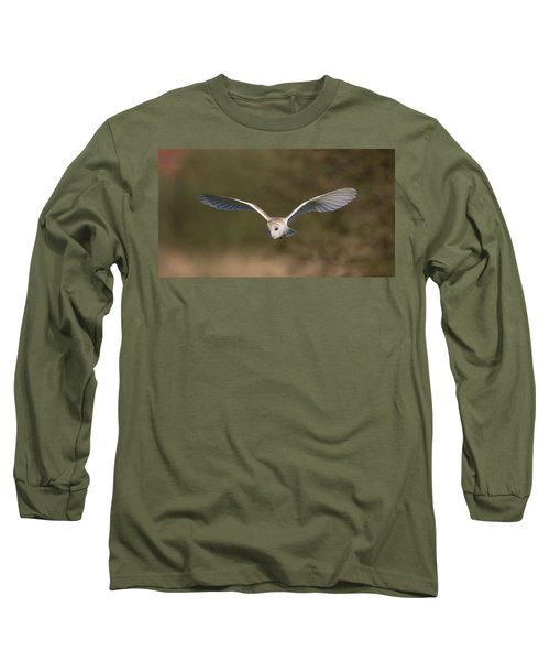 Barn Owl Quartering Long Sleeve T-Shirt