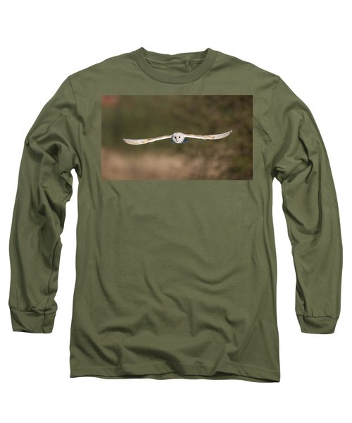 Barn Owl Wingspan Long Sleeve T-Shirt