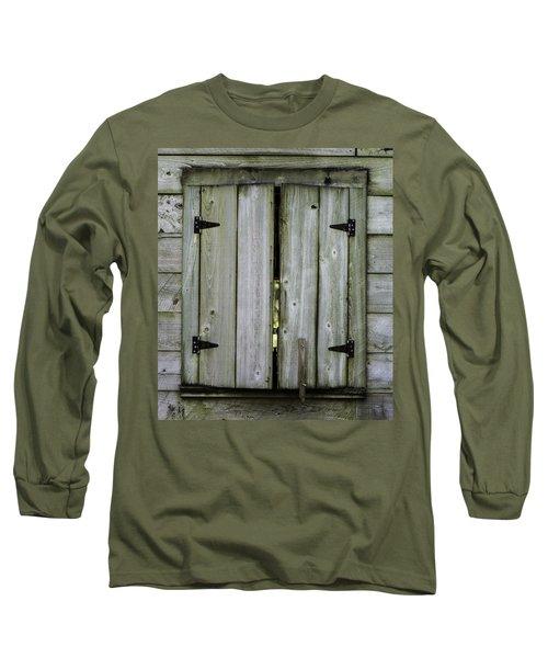 Barn Window, In Color Long Sleeve T-Shirt