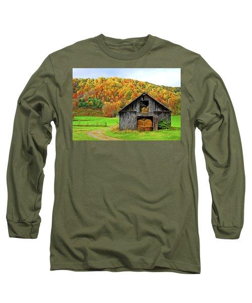 Barntifull Long Sleeve T-Shirt by Dale R Carlson