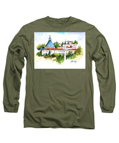 Basilica Of Annunciation, Nazareth Long Sleeve T-Shirt