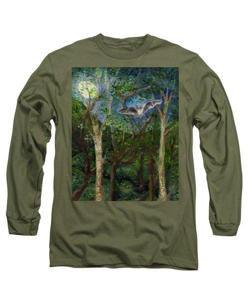 Bat Medicine Long Sleeve T-Shirt