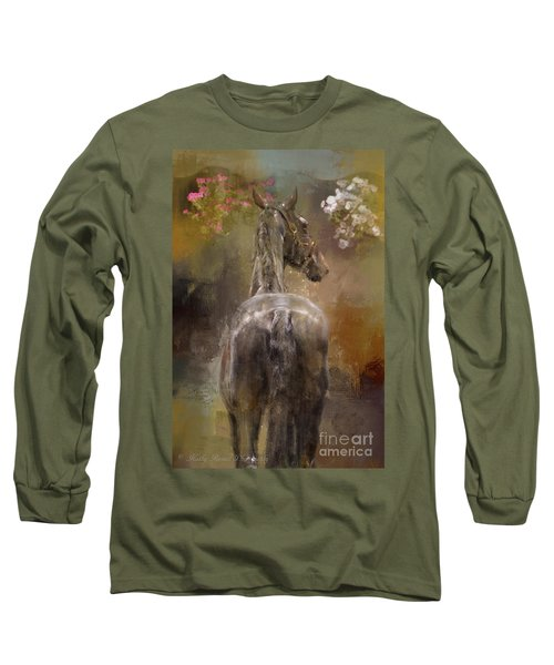 Bath Time Long Sleeve T-Shirt by Kathy Russell